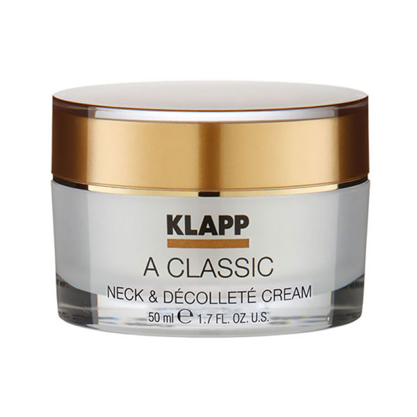 KL1803 - KLAPP A Classic Neck & Décolleté Cream - Dekolletépflege