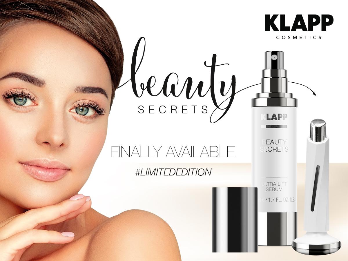 KLAPP Beauty Secrets Banner