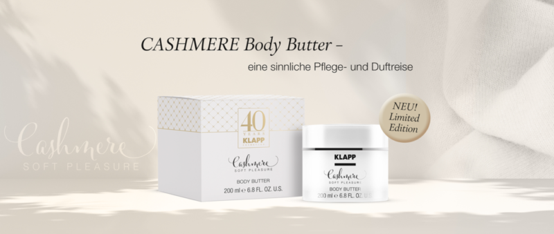 KLAPP Cashmere Body Butter Limited Edition
